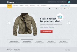 Shopping PREMIUM WORDPRESS