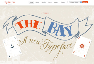 The Bay Font