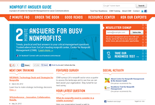 The Nonprofit Answer Guide
