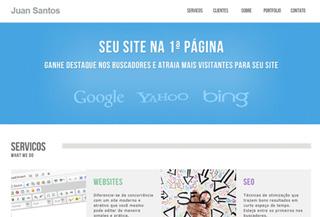 Juan Santos - Webdesign