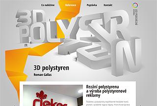 3D polystyren