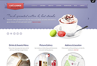 Bar WordPress theme