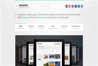 Energized PREMIUM THEME