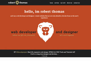 Robert Thomas | Web Developer
