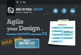 Agile UX Italia Barcamp