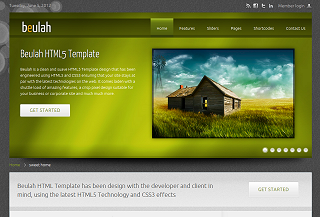 Beulah HTML5 Template