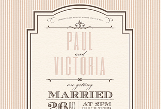 Paul and Victoria's Wedding Website