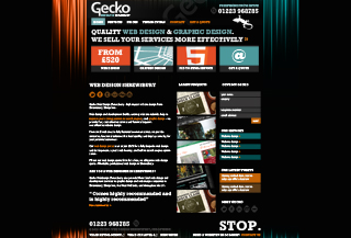gecko web design shrewsbury