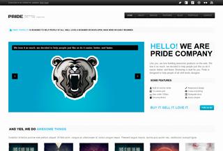 PRIDE - Responsive HTML