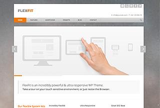 FlexFit - Responsive WP Theme