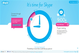It is time for Skype