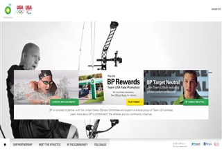 BP supports athletes