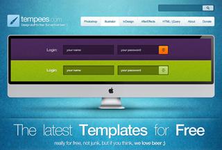 Tempees.com - free designs