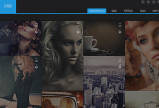 Portfolio WordPress Theme: Darx