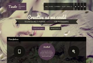 Tecato - Creative HTML5 portfolio