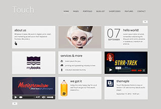 Touch Responsive Theme