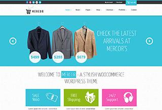 Mercor - a responsive WooCommerce Theme