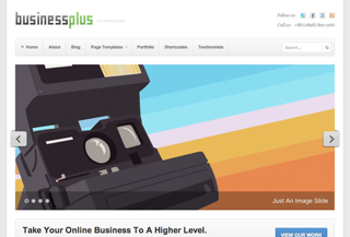 BusinessPlus Premium Theme