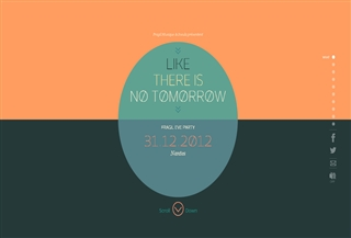 Like there is no tomorrow