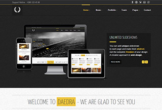 Daedra WordPress Theme