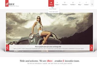 Alexx - Multipurpose HTML5 Theme