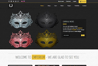 Responsive E-commerce WordPress Theme: Emporium
