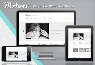 Moderna responsive WP Theme