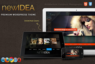 New Idea Responsive WordPress Theme
