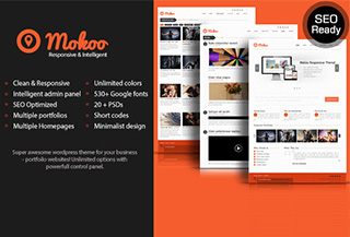 Mokoo Premium WordPress Theme