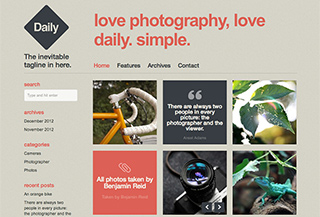 Daily WordPress Theme