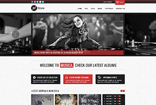 Musica - Ecommerce WordPress Theme
