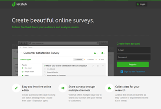 VoteHub - Online surveys