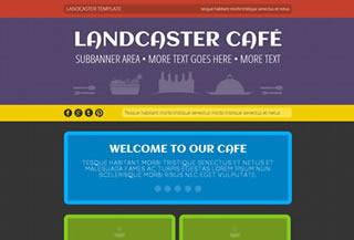 Landcaster Website Template