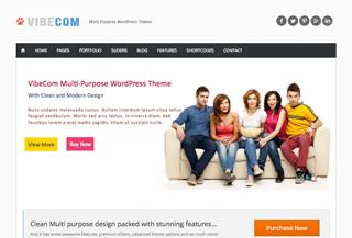 VibeCom MultiPurpose WP Theme