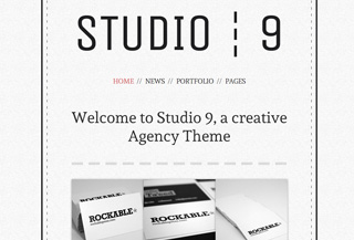 Studio 9 - Agency Portfolio WordPress Theme