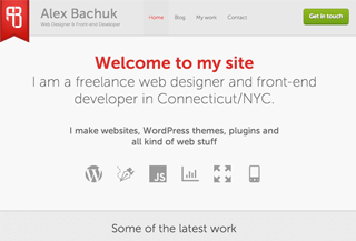 Alex Bachuk | web designer and devloper