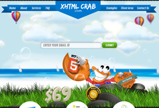 XHTMLcrab