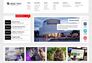 NewsTrick - WordPress Theme