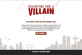 valentine for a villain