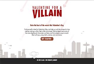 valentine for a villain