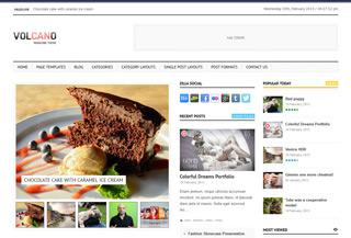 Volcano - WordPress Theme