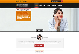 Elegant Business HTML5