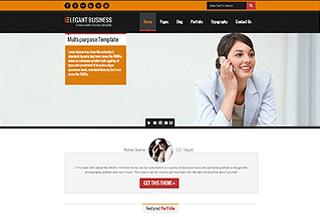 Elegant Business HTML5