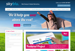 Skyblu Web Design