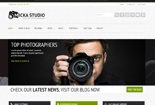 Micka - Responsive Blog WordPress Theme