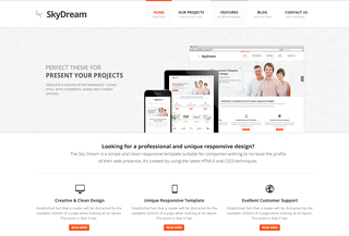 SkyDream - WordPress Theme