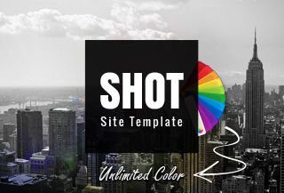 Shot Responsive Site Template