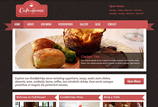 CafeHouse Responsive WordPress Theme