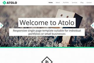 Atolo Responsive Template