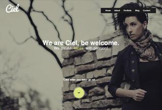 Ciel WordPress OnePage